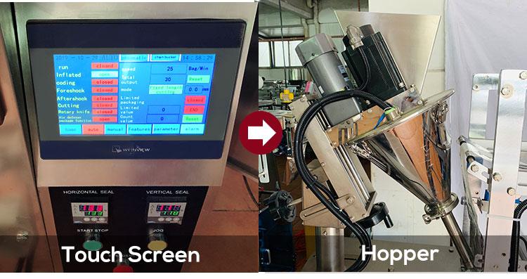 Automatic hot chocolate powder stick packing machine