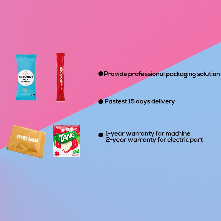 Automatic stick bag matcha tea powder ice tea powder drink powder packing machine