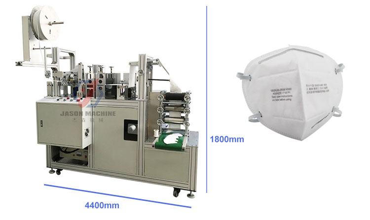 semi auto ultrasonic n95 face mask making machine and surgical