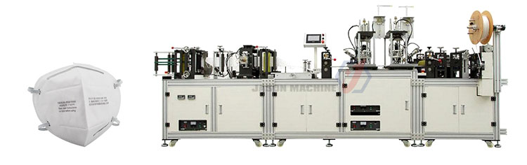 Semi automatic n95 mask making machine supplier