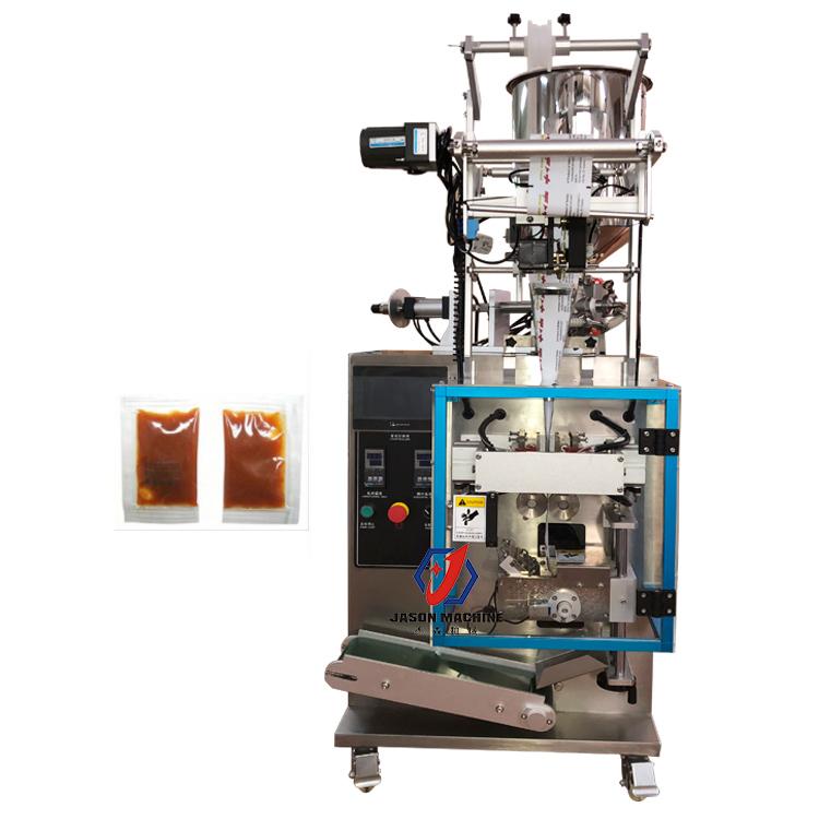 Automatic oil sauce liquid packing machine price