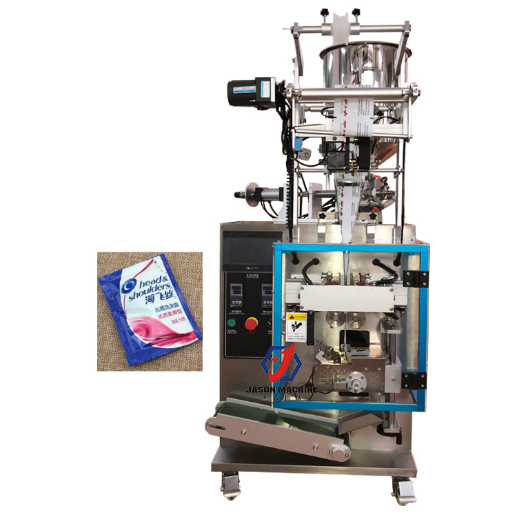 Automatic Juice Gel Liquid Sauce Honey Small Sachet Pouch Horiozontal Filling Packing Machine
