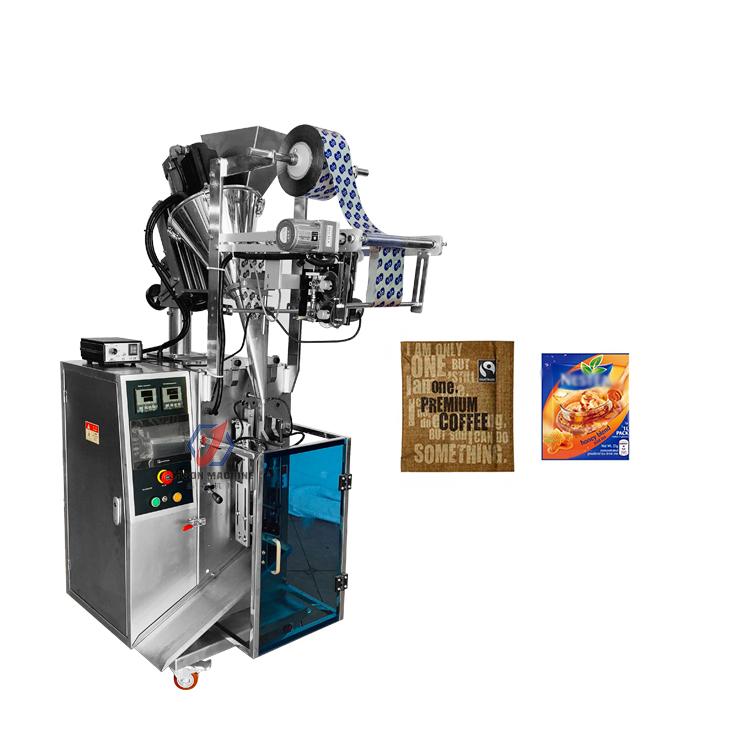 Full automatic small sachet coffee powder juice powder packing machine