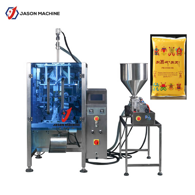 Automatic edible gelatin liquid packing machine