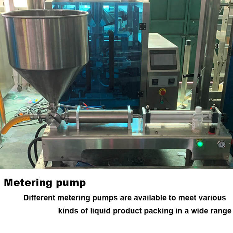 Auto liquid pp bag filling and packing machine