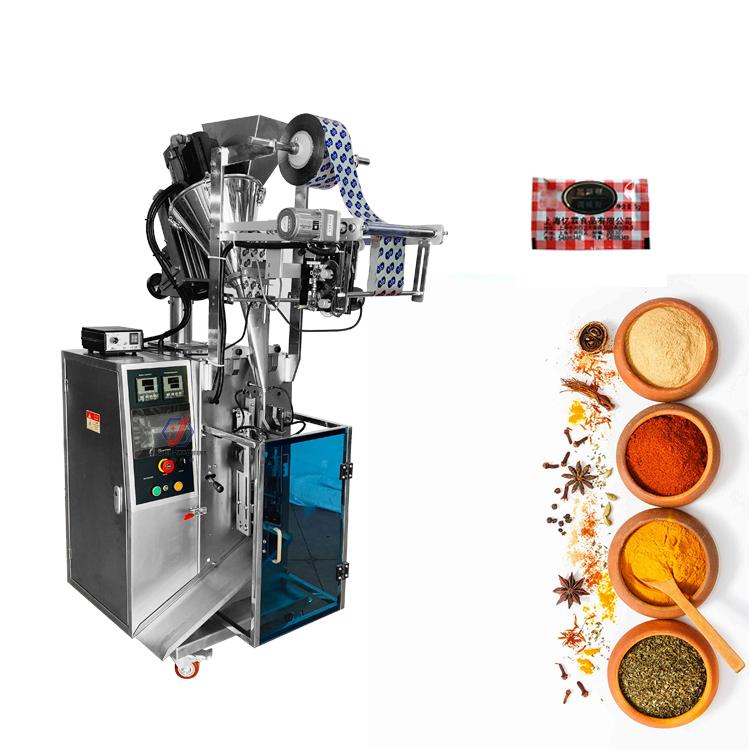 Full automatic samll curry powder turmeric powder masala powder packing machine