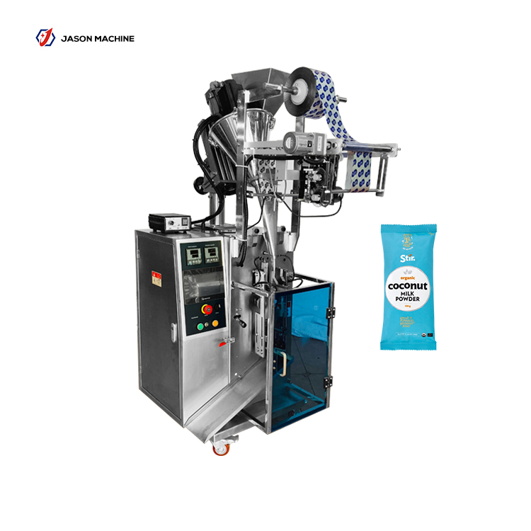 Automatic pouch packing coffee powder milk powder cocoa powder packaging machine