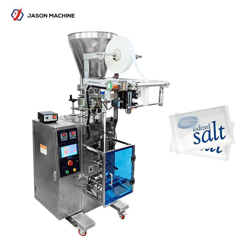 Small granule sachet salt packaging machine automatic
