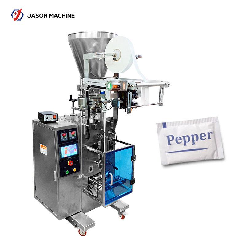Automatic sachet salt and pepper sachet packing machine