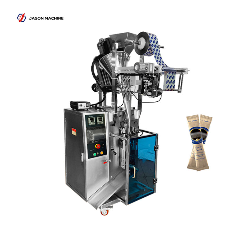 Automatic stick bag instant coffee powder packing machine
