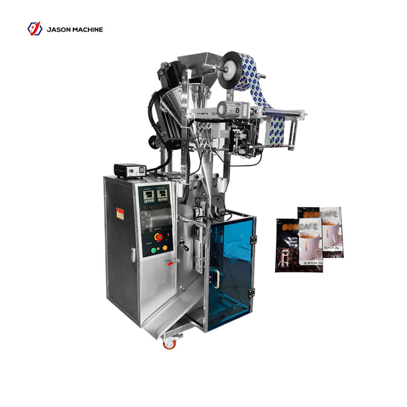 Small automatic sachet coffee powder milk powder packing machine