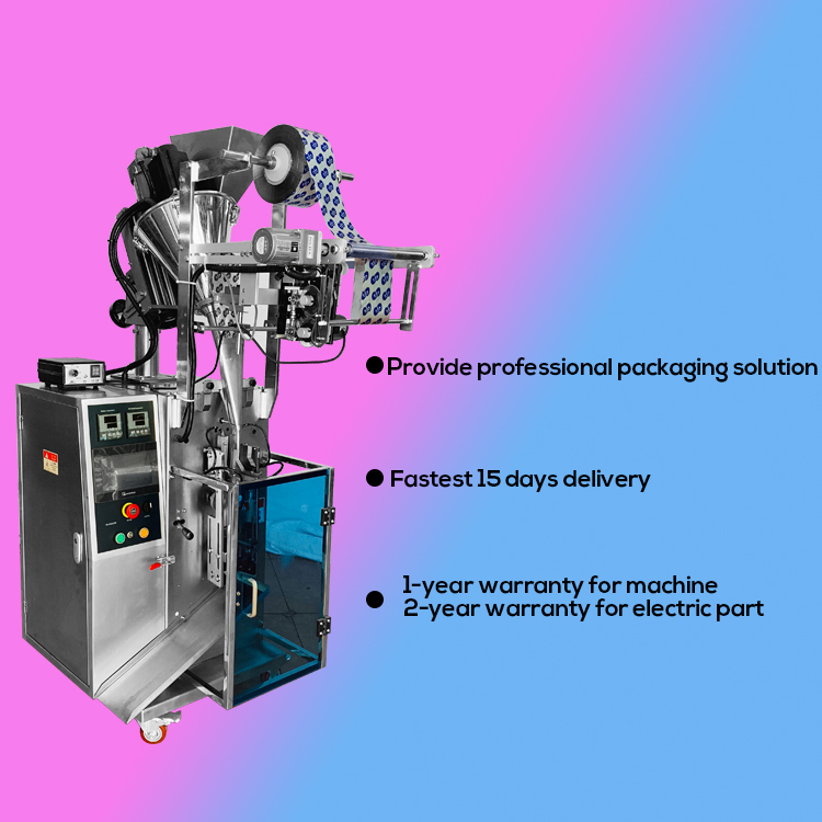 Automatic milk powder 3 in 1 coffee powder sachet powder filling and sealing packing machine