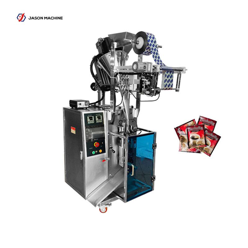 Automatic milk powder coffee powder sachet date printing and packaging machine
