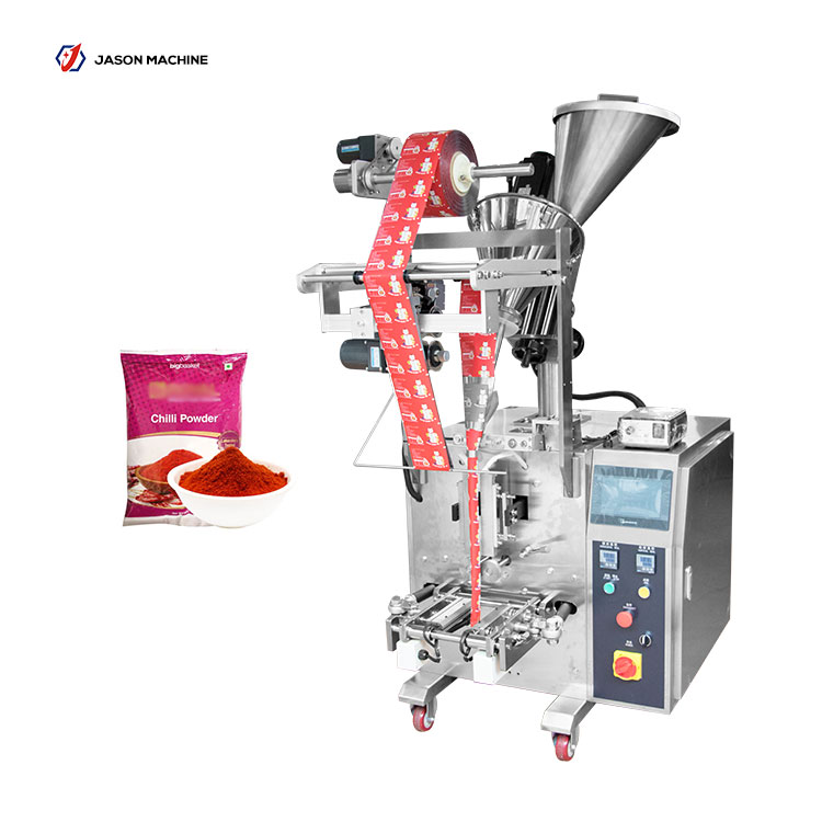 Vertical automatic pouch packing chili powder curry powder machine price