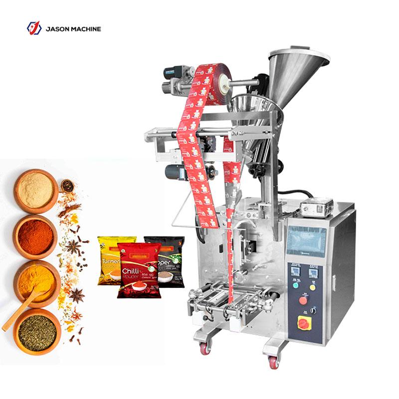 Automatic 100g 200g spice powder masala powder packing machine