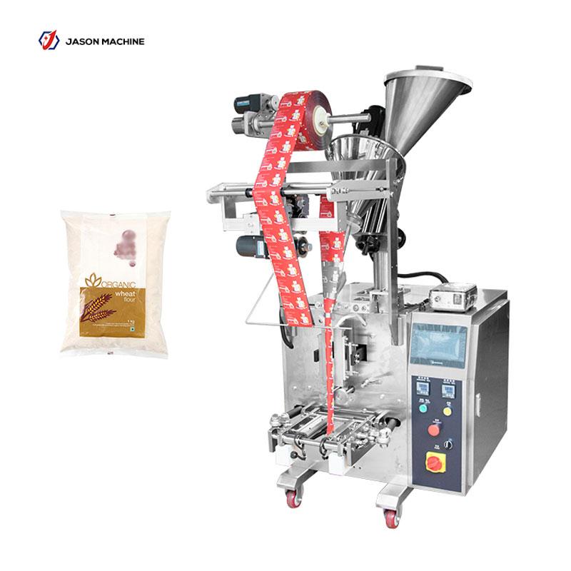 Automatic small pouch cassava flour powder packing machine