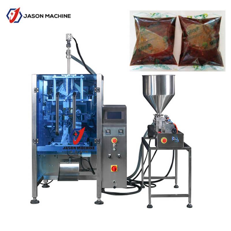 Automatic sachet spice juice jam Peri Peri Sauce Sachet packing machine