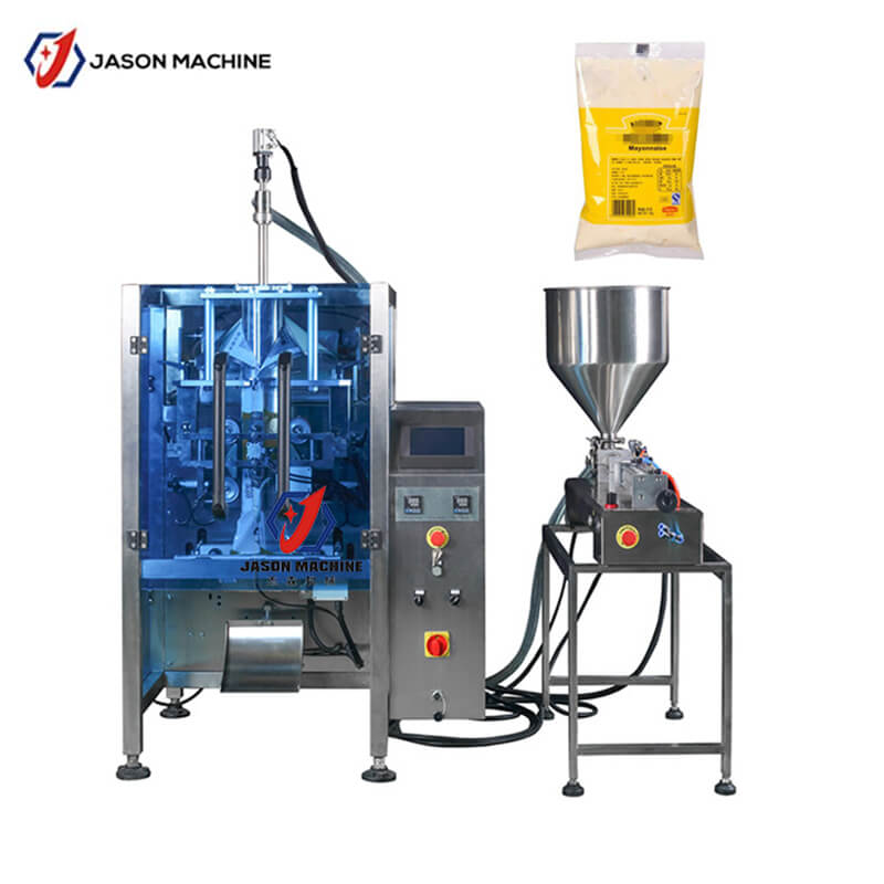 Factory Filling Equipment Sachet Mayonnaise Sauce Packaging Machine