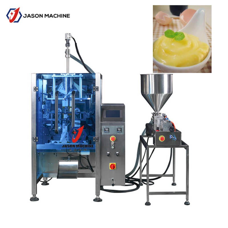 Automatic vanilla flavored syrup condiment packing machine