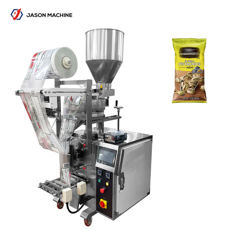 Automatic vertical cashew nut roasted peanut packaging machine