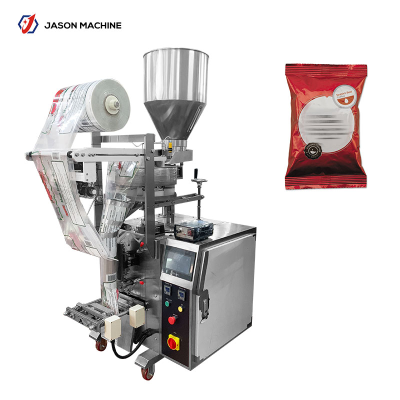 Fully automatic snacks pouch popcorn packaging machine