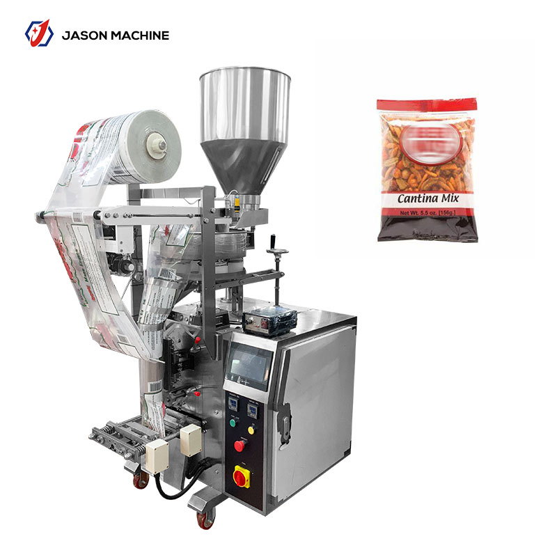Pouch packing machine for dried fruit and roasted peanut automatic