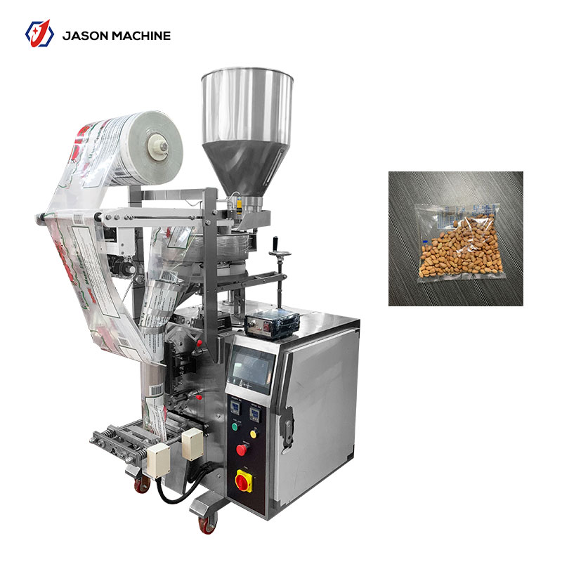 Automatic granule roasted peanut packaging machine