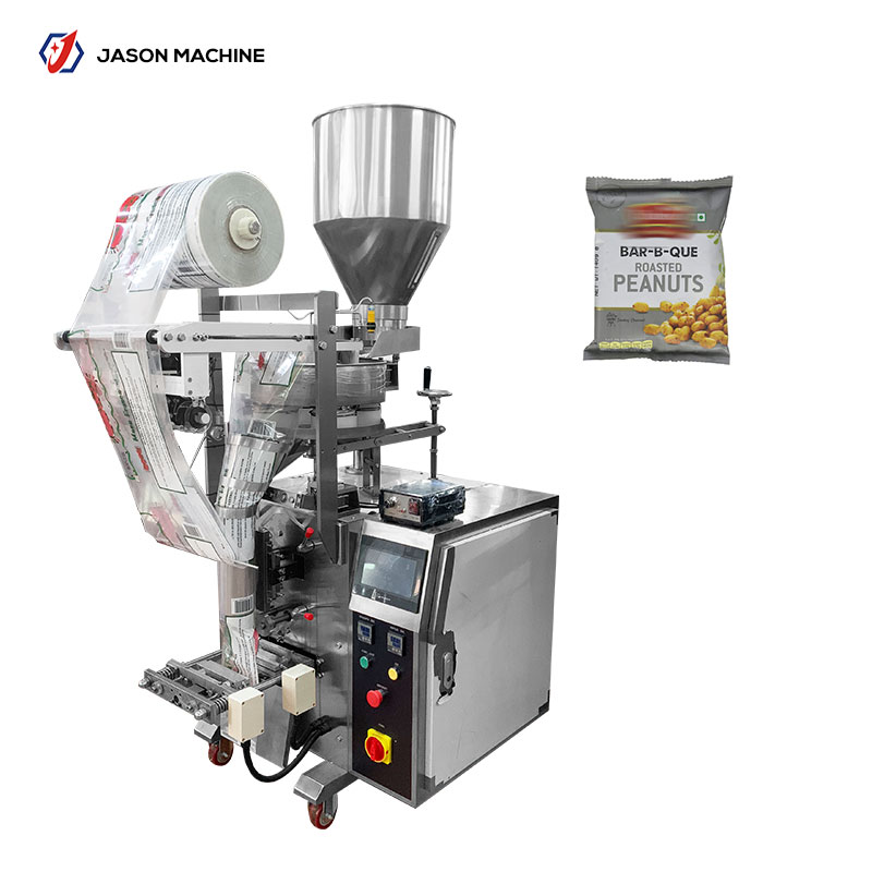 Automatic vertical small cookie wrapping machine