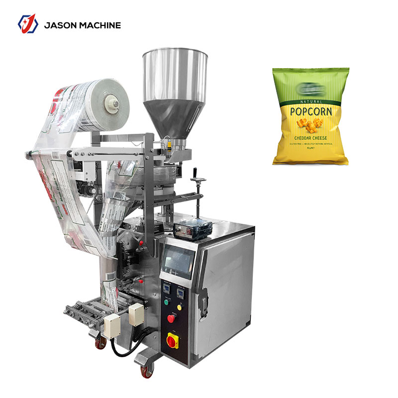 Automatic small potato chips packing machine with nitrogen low price
