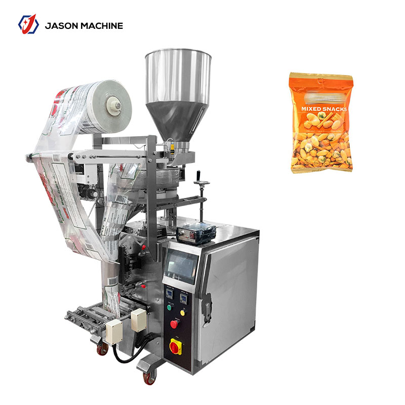 Automatic snack pouch food chickpea packing machine