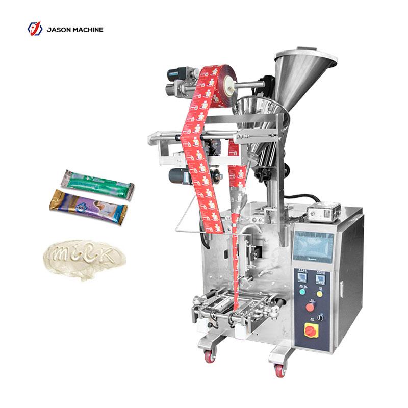Full automatic sachet package powder milk coffee packaging machine