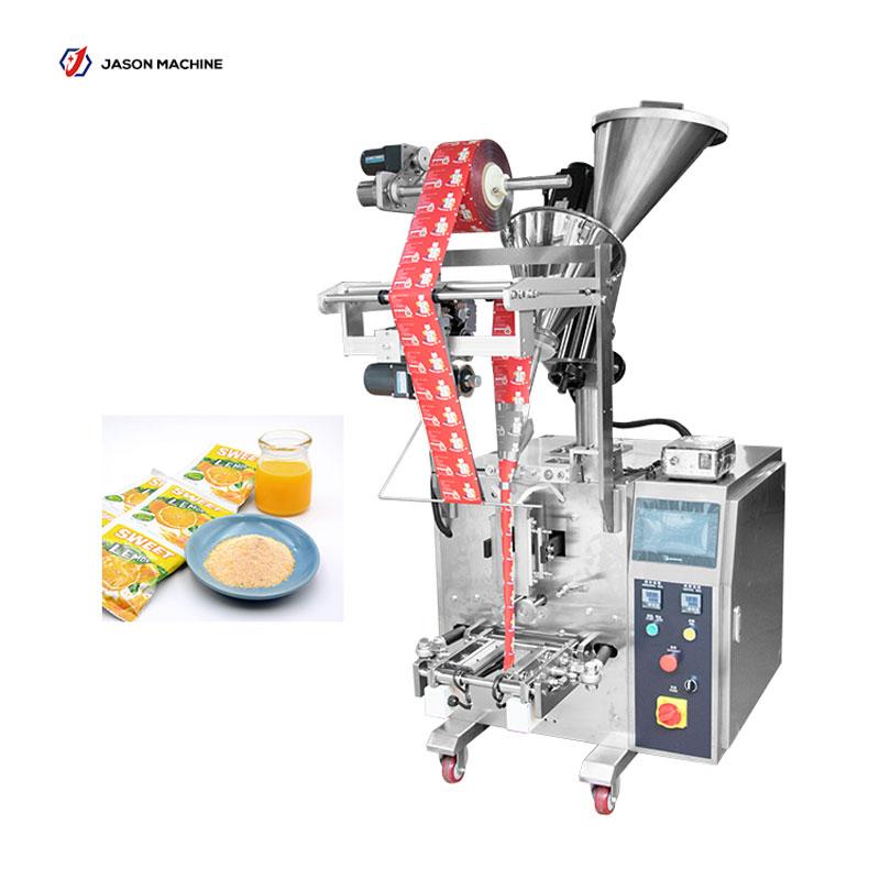 Full automatic food powder packing fruit juice powder machine