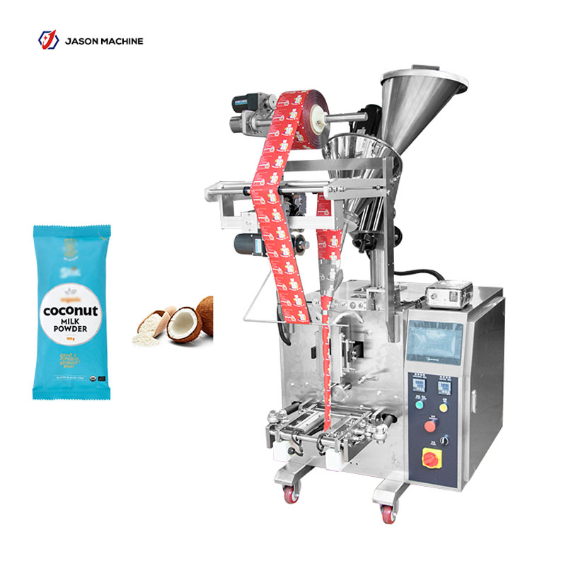 Full automatic stick package coconut milk powder packing machine