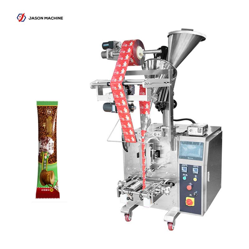 Full automatic instant coffee milk juice powder stick packing machine