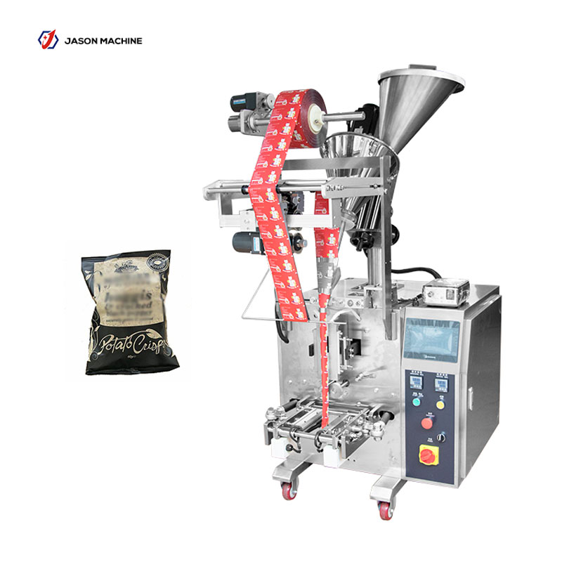 Full automatic tooth cut pepper powder ginger powder bag packing machine