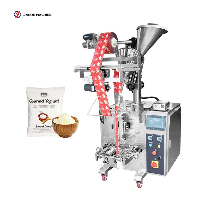 Full automatic pouch yogurt powder ice cream powder packing machine