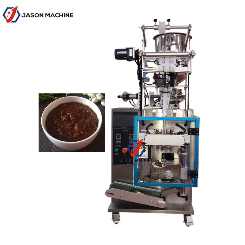 Automatic seasoning sauce pouch packing machine