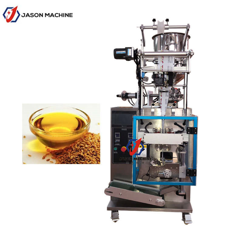 Cooking olive oil pouch sachet packing machine