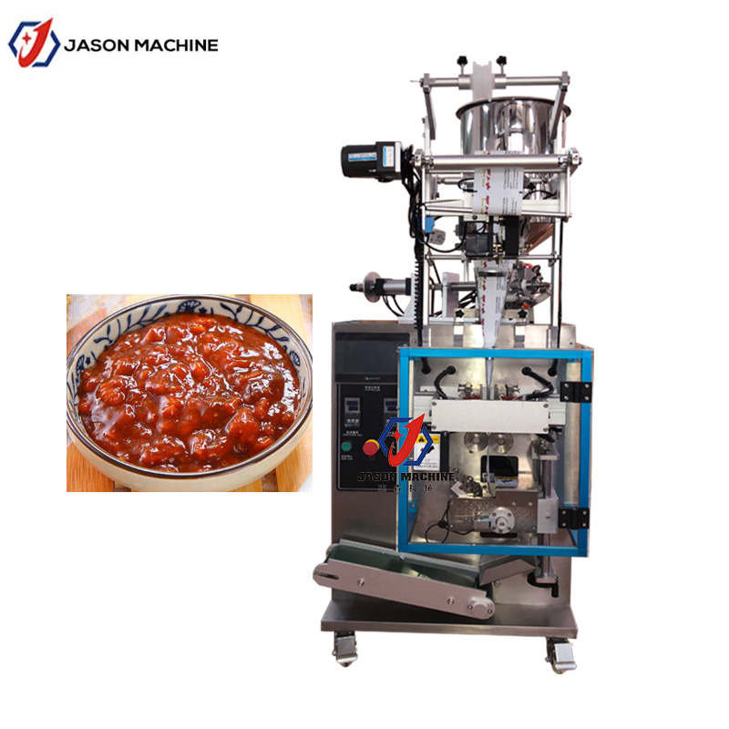 Multifunctional Chili Paste Seafood jam Sweet Sause Cutting Packing Machine