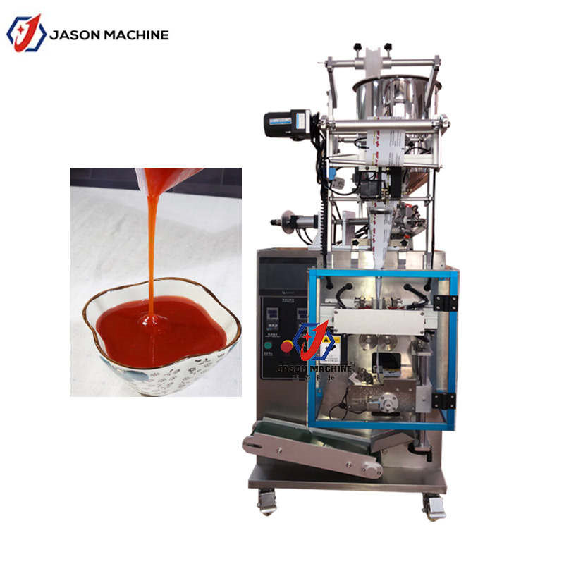 Automatic Sauce Liquid Filling Packing Machine Liquid Sealing Machine