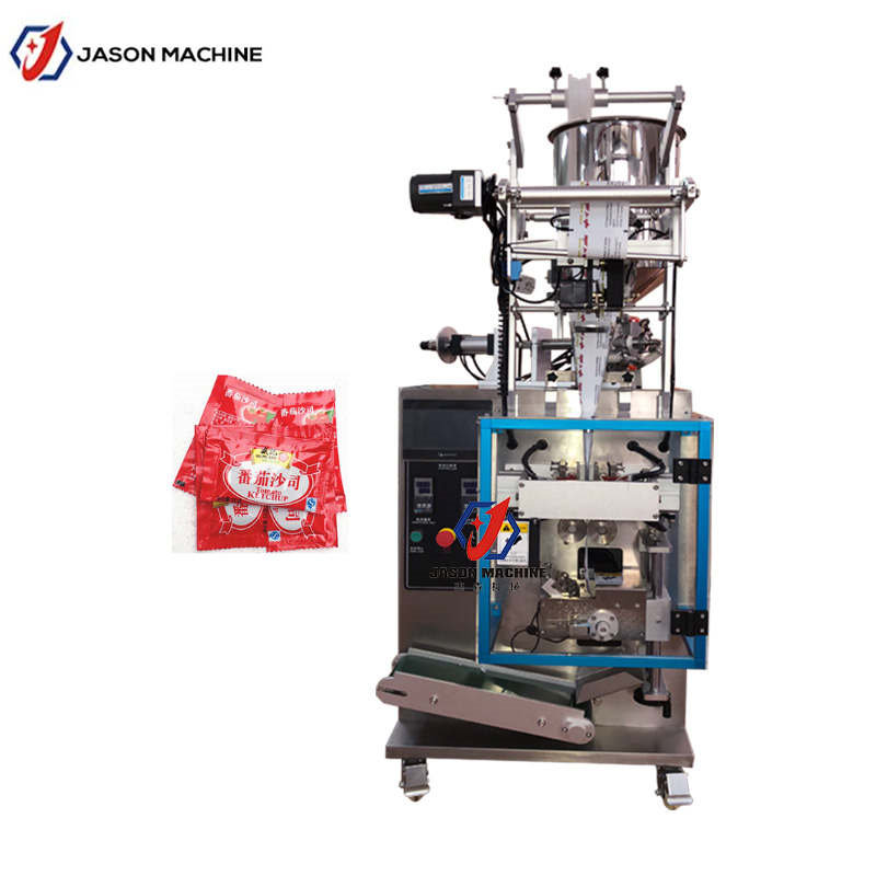 Sauce Paste Filling Packing Machine For Chili Sauce, Tomato Sauce, Peanut Butter 10 - 50ml