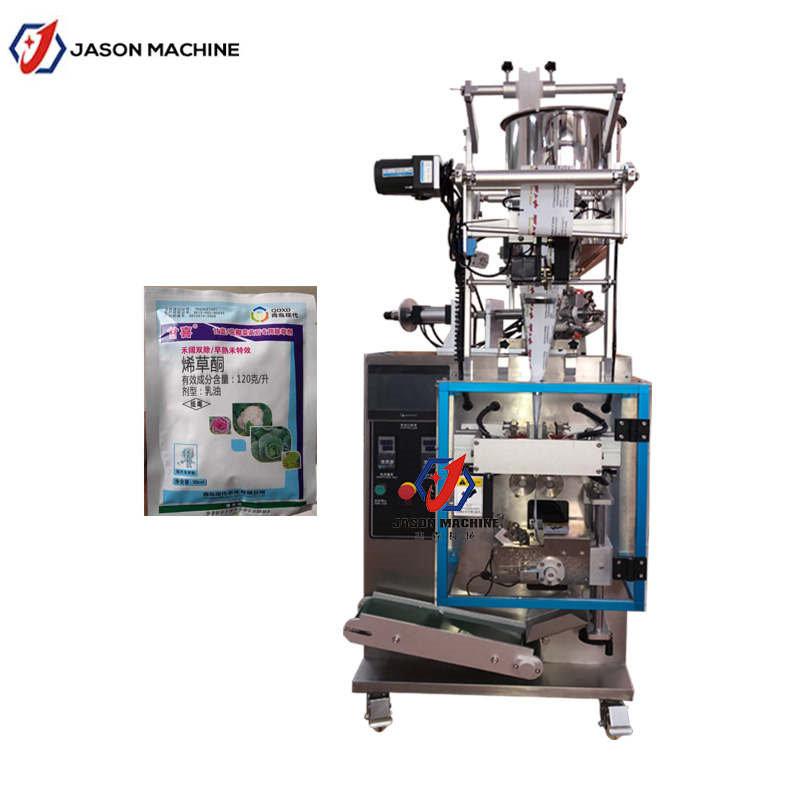 Liquid pesticides filling and packing machine