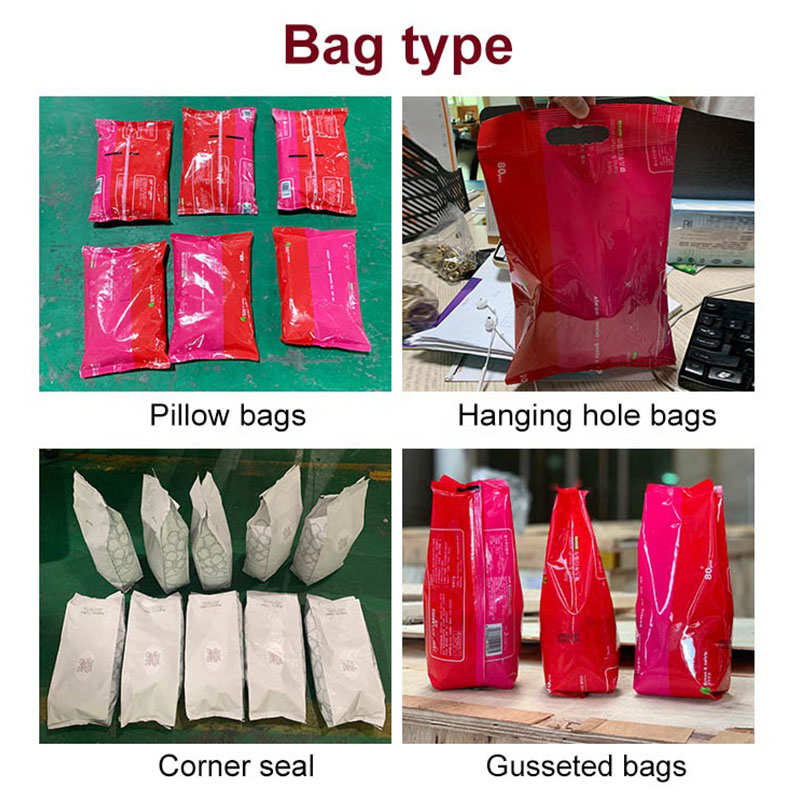 Automatic pillow bag chocolate ball wrapping packing machine