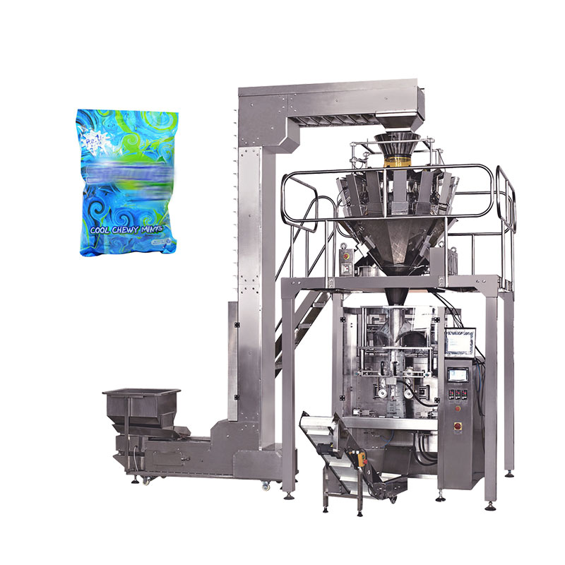 Automatic ice cube bag packing machine