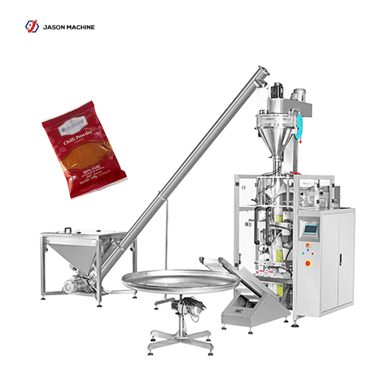 Vertical automatic fine chili powder filling chilli powder packing machine price