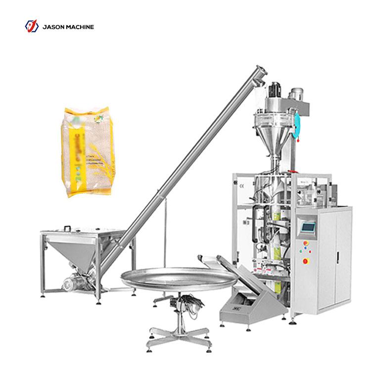 Automatic pouch flour powder cassava flour packing machine