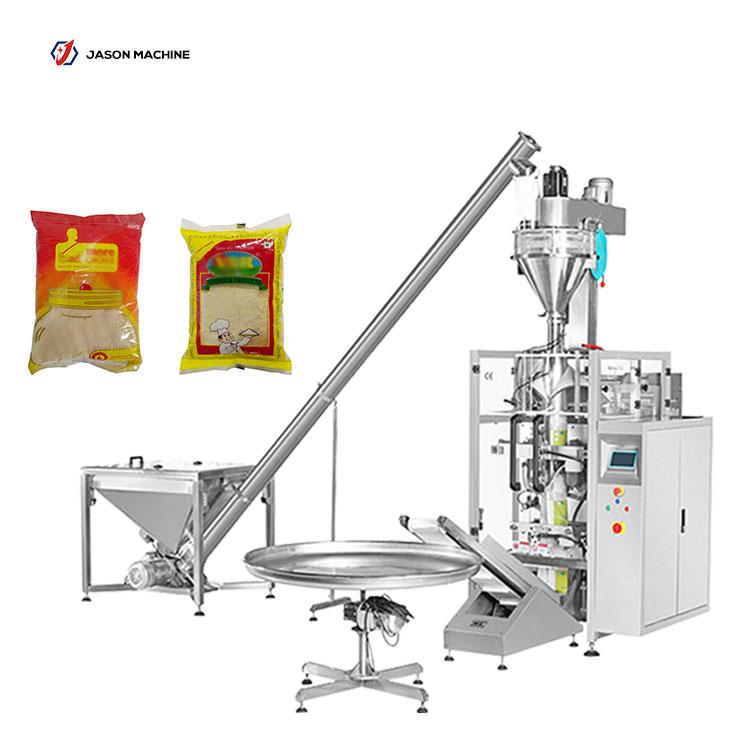 Automatic maize meal wheat flour cassava flour packing machine price