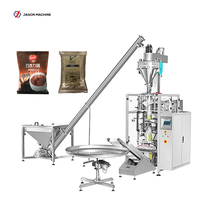 Fully automatic cocoa powder coffee powder bag packing machine