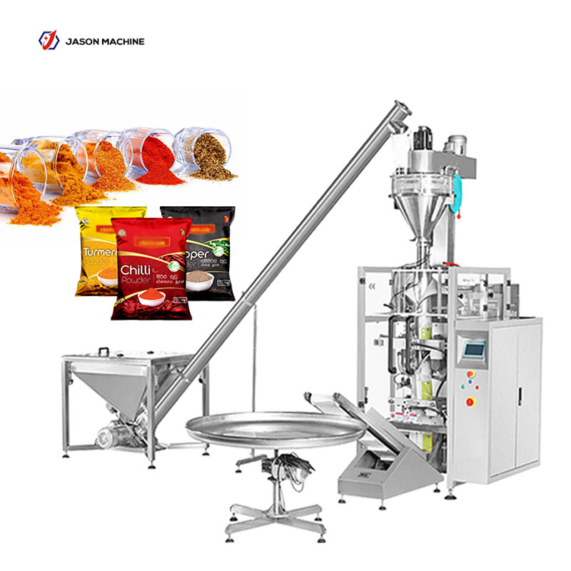 Fully automatic spices seasoning powder filling packing machine