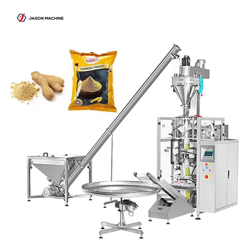 Factory manufacture vertical ginger spices powder packaging machines